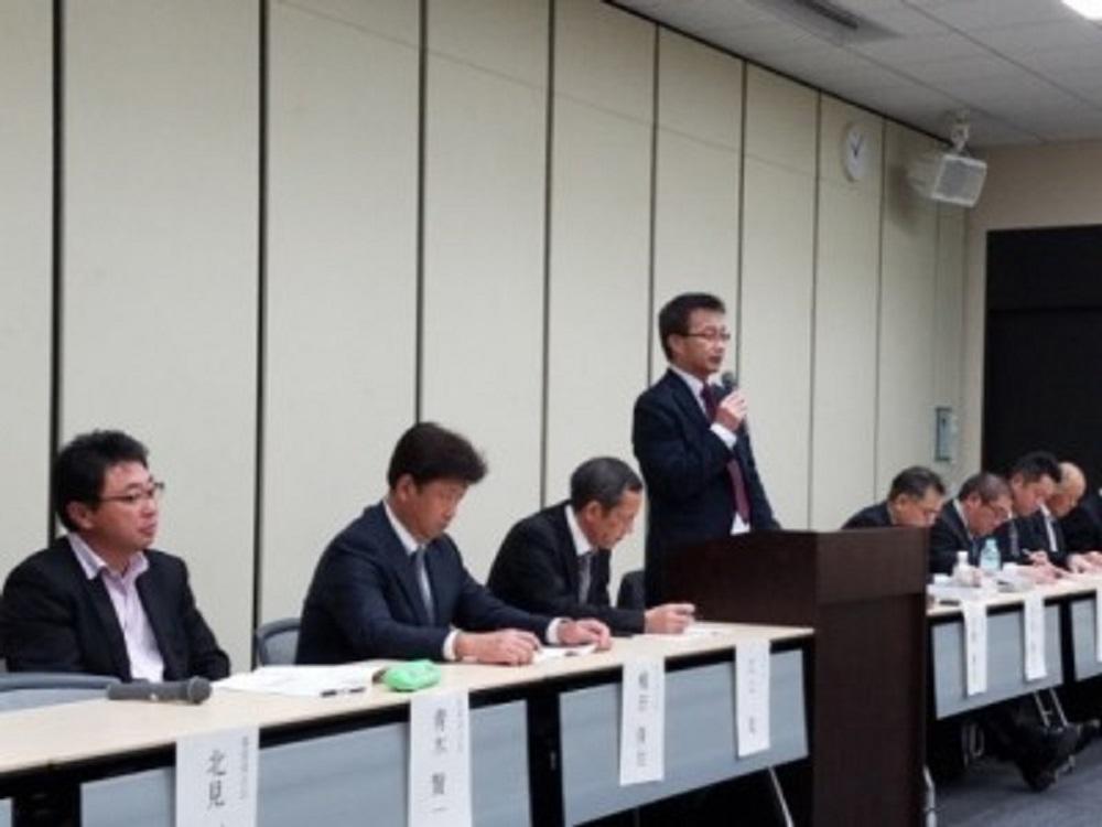 大津代表幹事による方針説明
