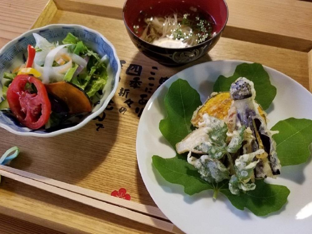 大和野菜や漢方薬(大和トウキ)を使用した料理