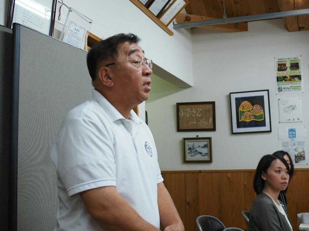 和田代表取締役にも懇親会に参加いただきました
