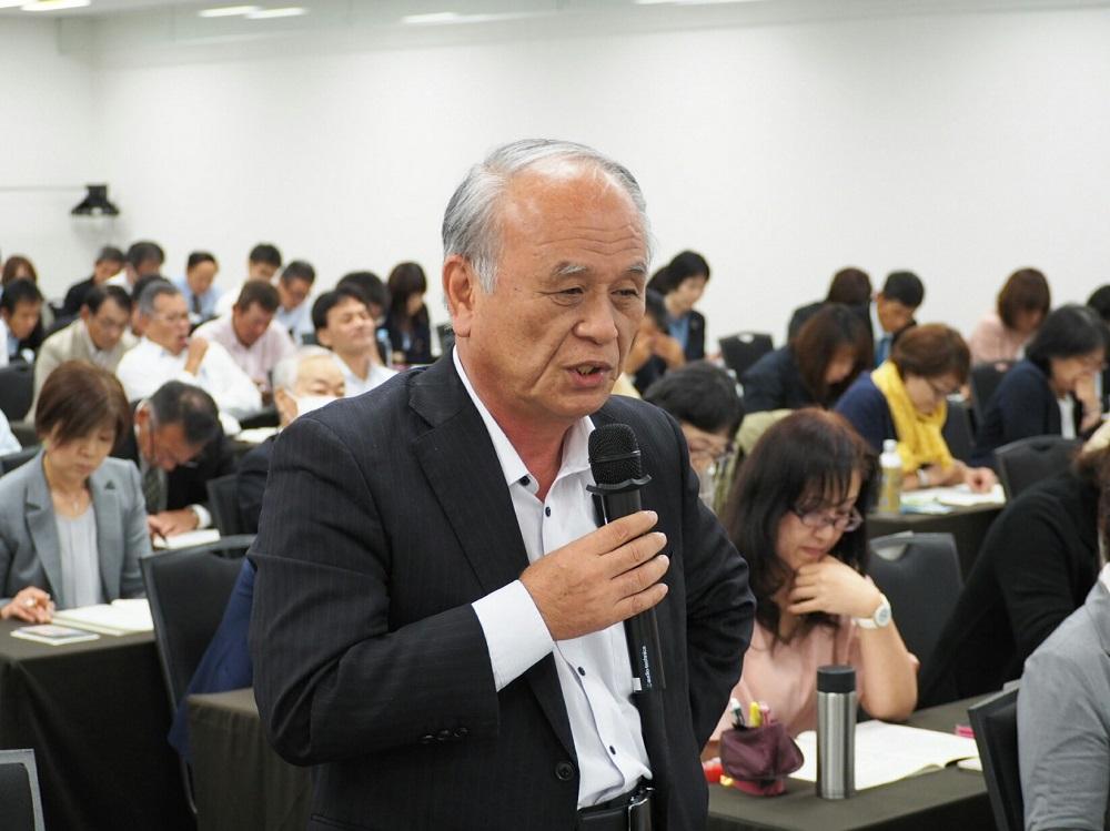 工藤本部長、野村専務(㈱ジーピーエス)から回答